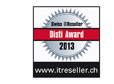 Swiss IT Reseller Disti-Award 2013