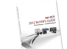 ACTi Buyer's Guide