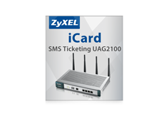 Zyxel UAG2100 iCard SMS-Ticketing