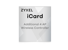 Zyxel iCard pour USG, UAG et ZyWALL + 4 Access Points
