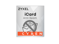Zyxel iCard Cyren Anti-Spam USG40 & 40W, 1 an