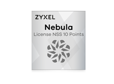 Zyxel Nebula License NSS 10 Points