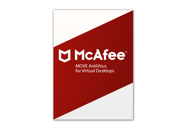 McAfee MOVE AV for Virtual Desktops 1YrBZ[P+] 26-50 Nodes