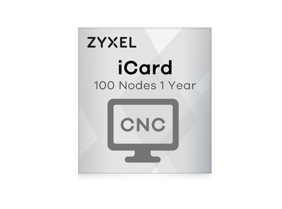 Zyxel iCard Cloud Network Center (CNC) 100 Nodes