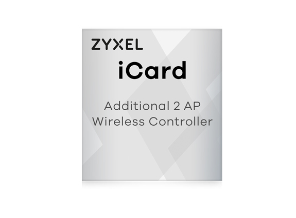 Zyxel iCard pour USG, UAG et ZyWALL + 2 Access Points